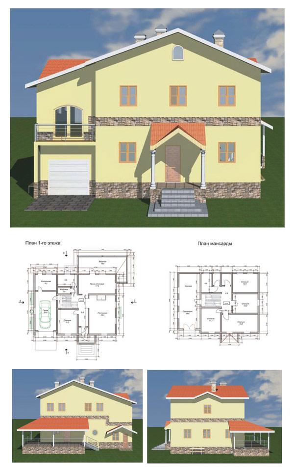 Типовой проект дома